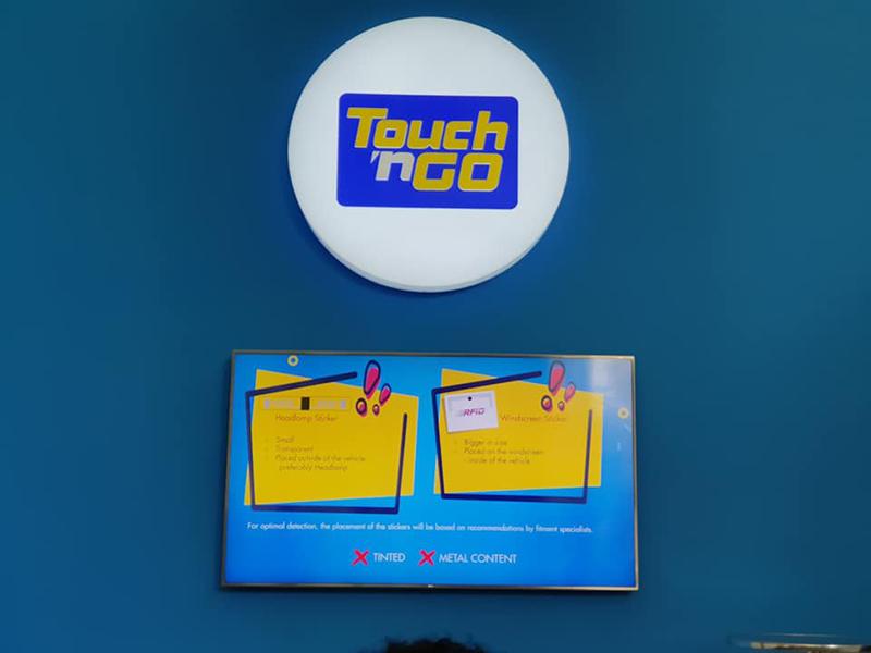 Touch N Go RFID