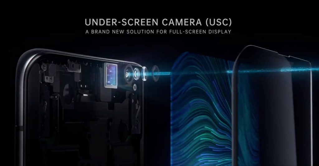 Oppo debuts Under-Screen Camera at MWC Shanghai 2019
