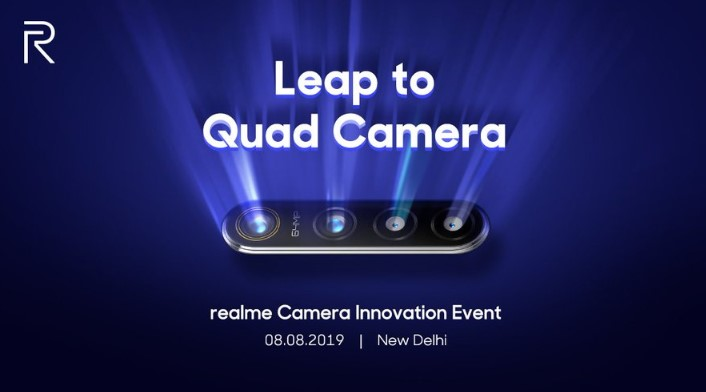Realme is jumping on the Quad Camera Bandwagon With New Smartphone