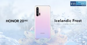 Value King HONOR  20 Pro Gets a Cool New Colour