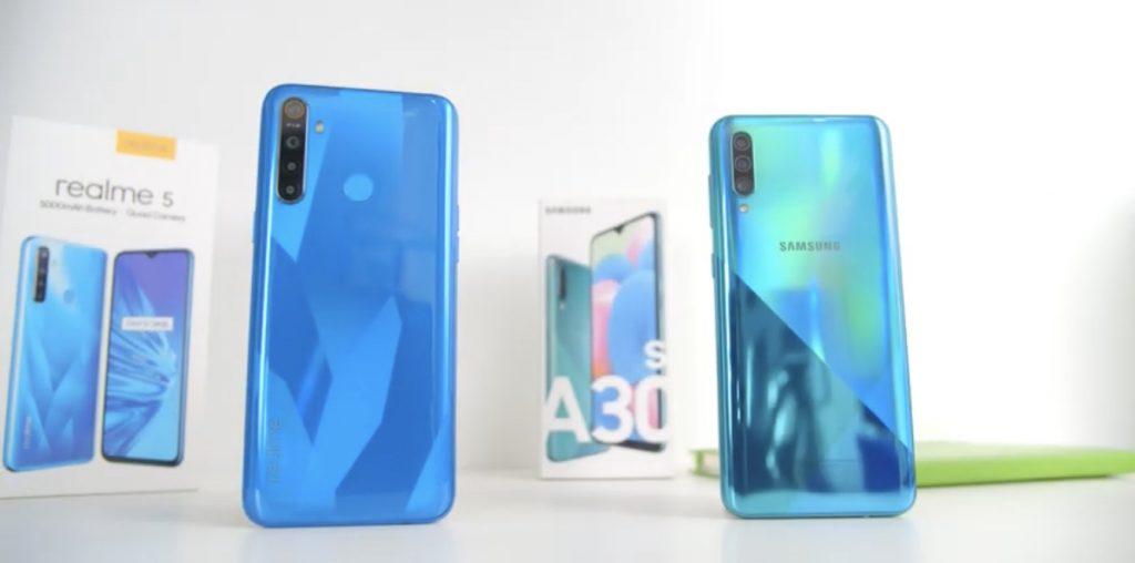 Realme 5 vs Samsung Galaxy A30s!