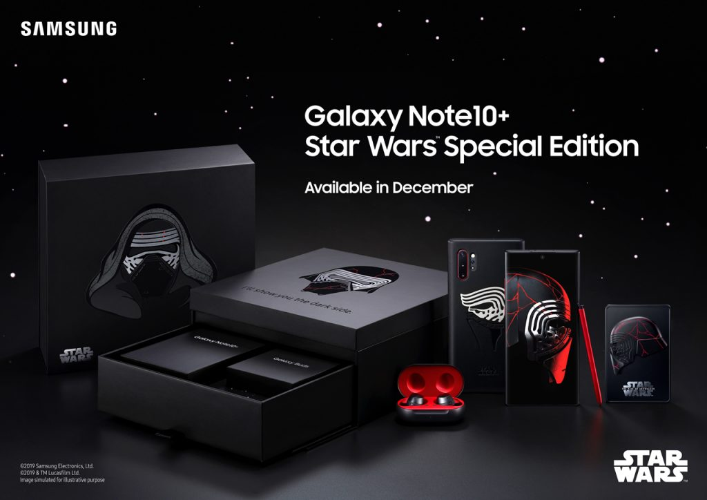 Get Your Star Wars On With Samsung's Special Edition Galaxy Note 10